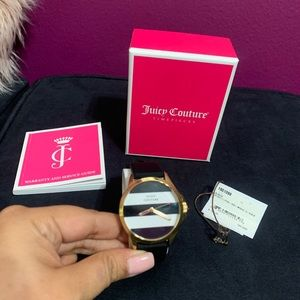 """Juicy Couture Striped watch *LIKE NEW"""""""